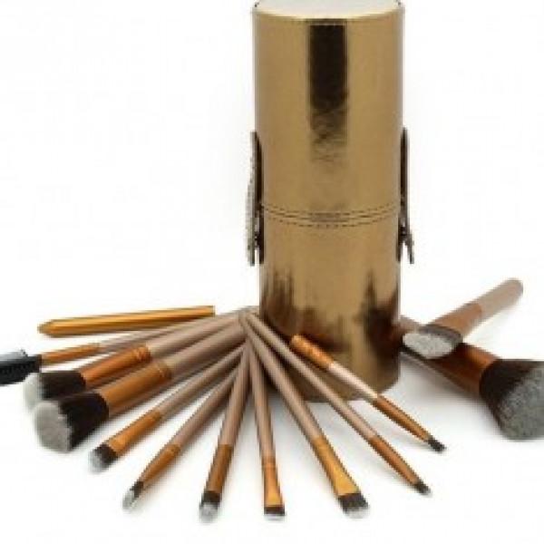 Pensule Make-Up 12 Bucati