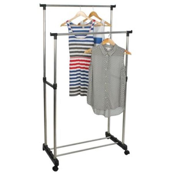 Suport metalic pentru haine cu inaltime reglabila
