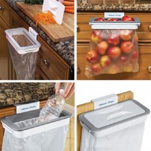 Suport pentru sacul de gunoi cu capac