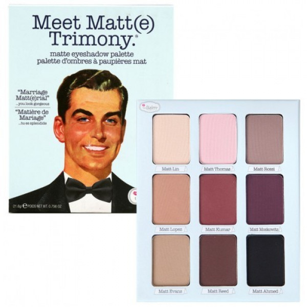 Trusa machiaj Meet Matt(e) Trimony 9 culori