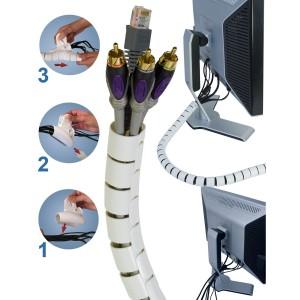Tub spiralat pentru organizarea cablurilor