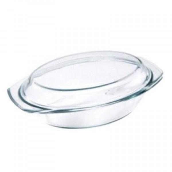 Vas yena oval cu capac 2L VB 3020010
