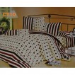 Lenjerie de pat creponata din 4 piese
