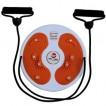 Disc rotativ fitness cu corzi ajutatoare