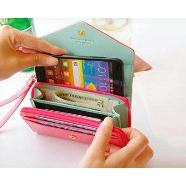 Portofel cu compartiment pentru Smartphone