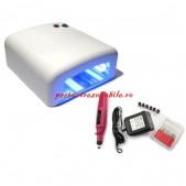 Kit lampa UV cu pila electrica