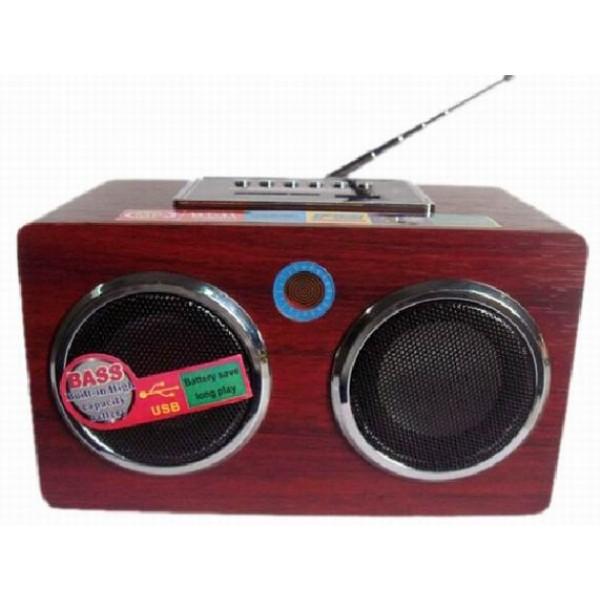 Radio cu lanterna si usb