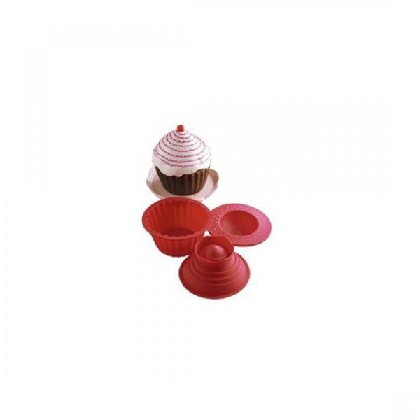 Forme prajituri silicon Big Top Cupcake