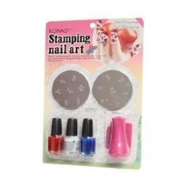 Kit stampile pentru decorarea unghiilor