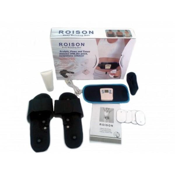 Set centura si papuci pentru masaj Roison EGO-798