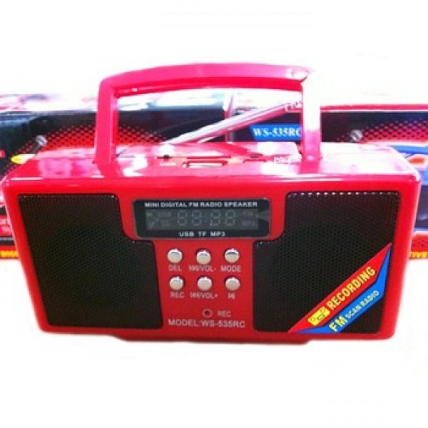 Boxa Portabila Cu MP3 si Radio Fm model WS-53RC