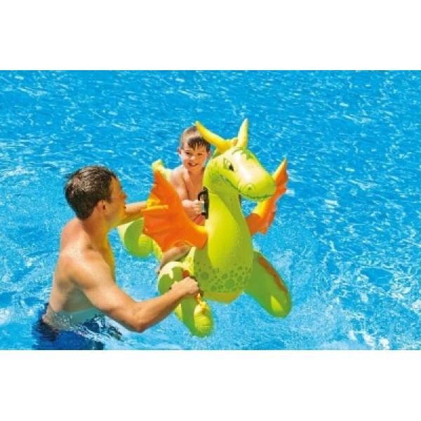 Saltea gonflabila Dragon pentru copii