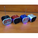 Mini Boxa Cu MP3 Player si Radio Fm forma mar