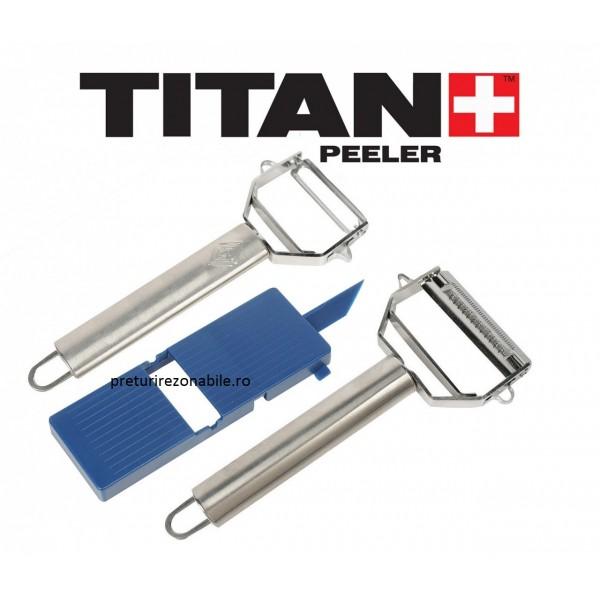Set 2 curatatore si razatoare Titan