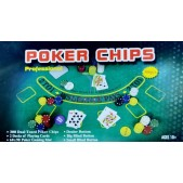 Set Poker 300 jetoane cutie metalica
