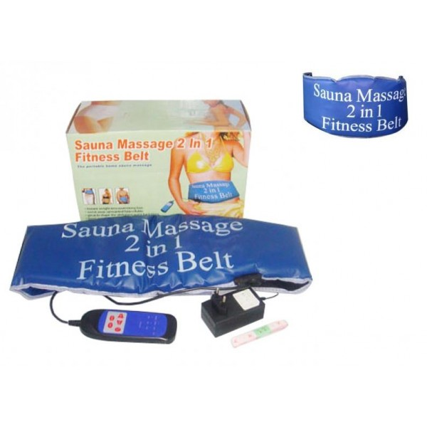 Centura de slabit - Sauna Massage 2 in 1 Fitness Belt