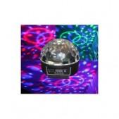 Glob disco cu lumini multicolore cu stick muzica