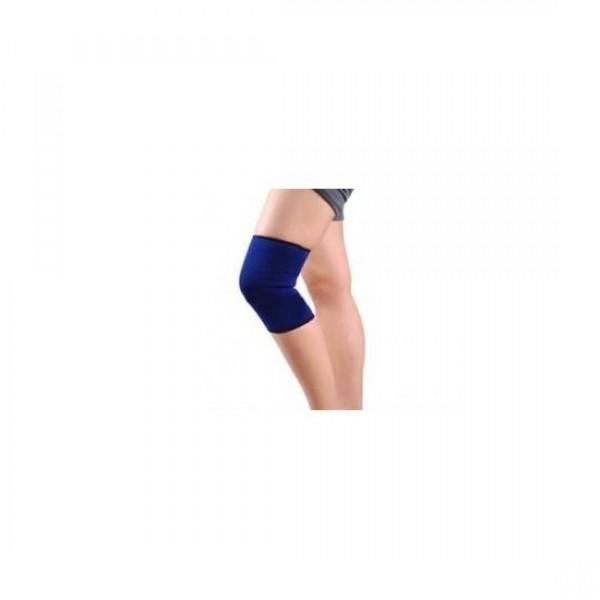 Banda elastica pentru sustinerea genunchiului