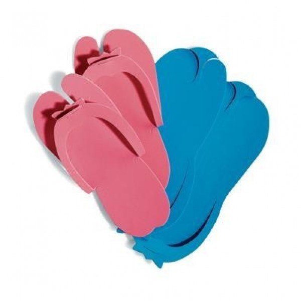 Set 10 perechi papuci unica folosinta pentru pedichiura