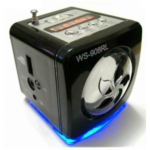 Radio MP3 player portabil cu afisaj WS908RL