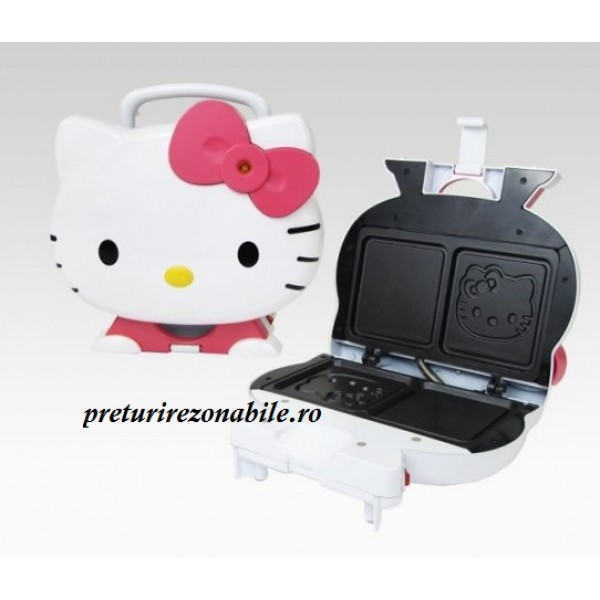 Aparat de facut sandwich-uri Hello Kitty